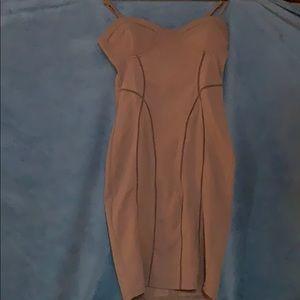 Mud colored dress